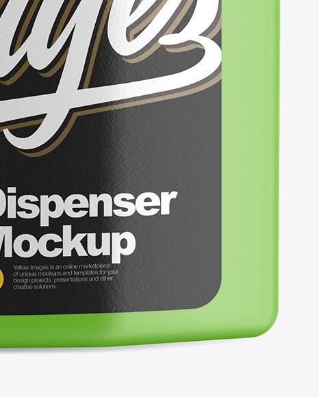 Dispenser Mockup