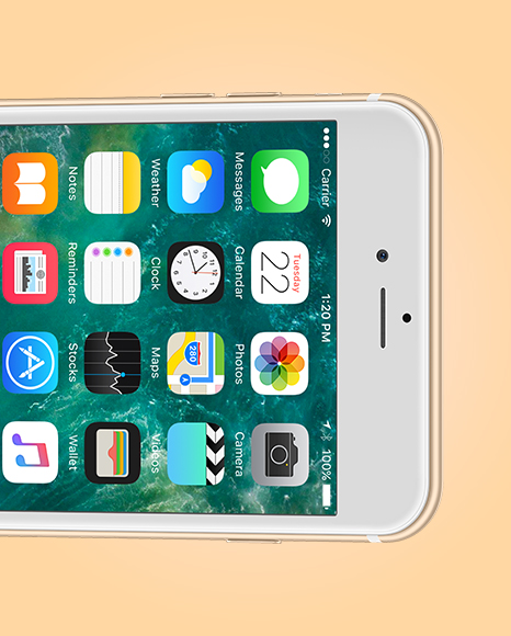 Apple iPhone 6 Plus Mockup
