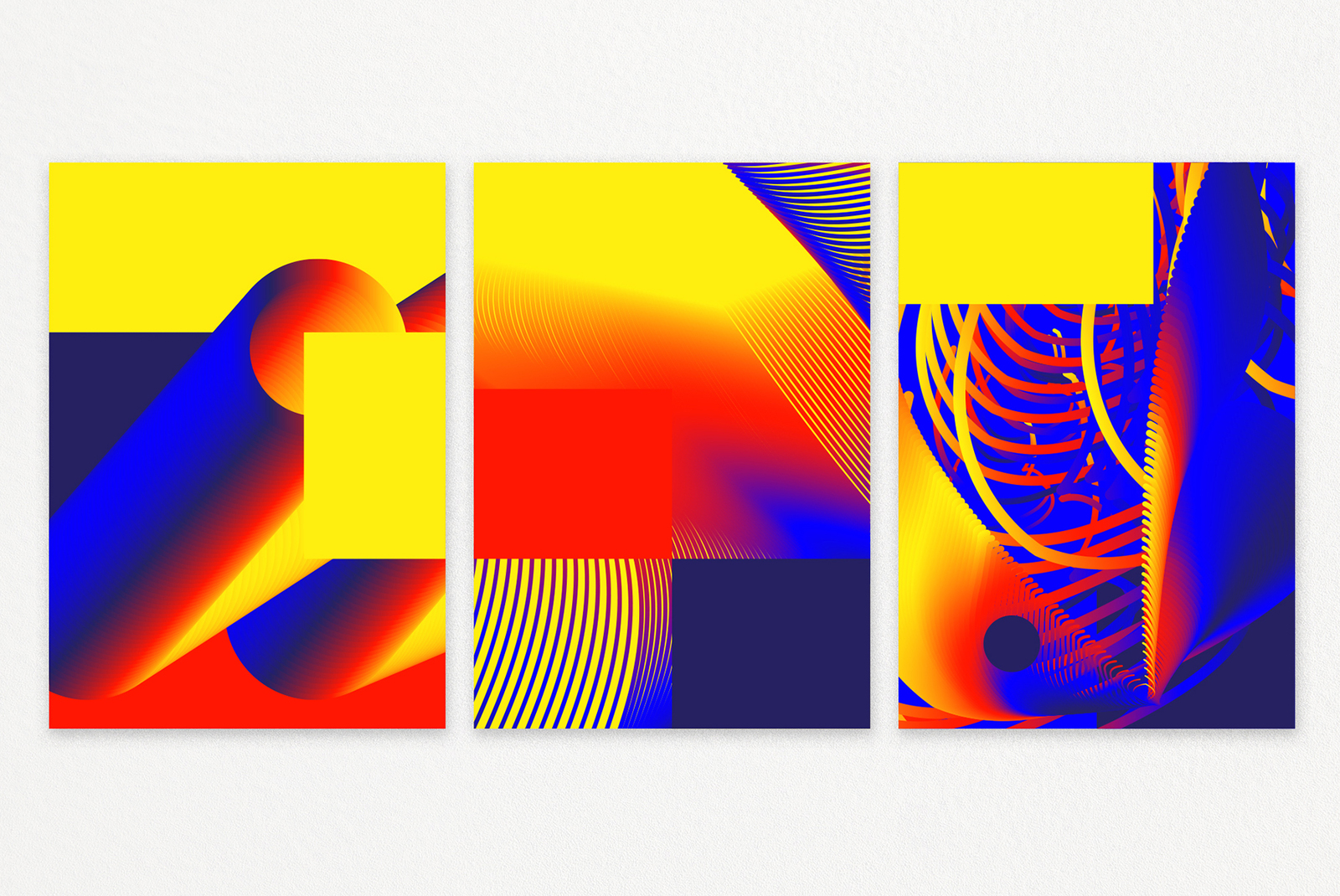 Cosmic Geometry: 87 shapes/posters