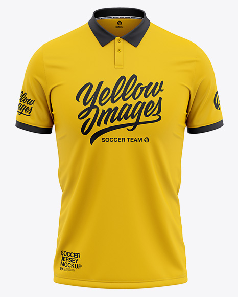 Download Basketball Jersey Mockup Front View Yellow Images
