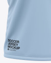 Men's Soccer Jersey Mockup - Front View Of Polo T-Shirt