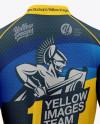 Women`s Cycling Jersey Mockup - Back View