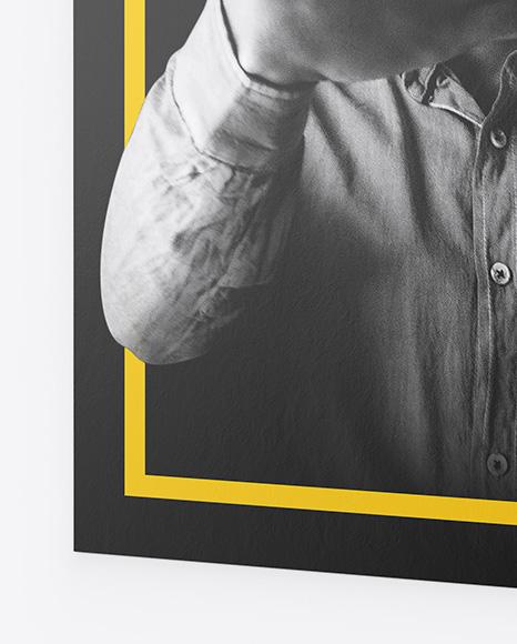 Textured Poster Mockup