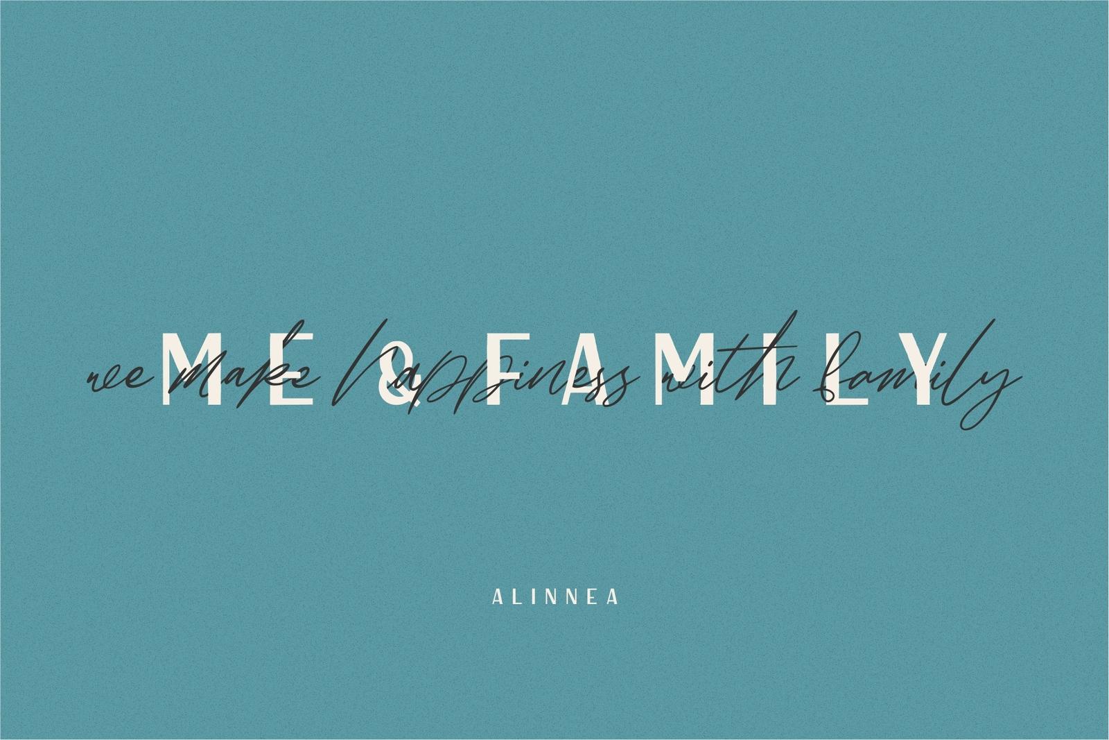 Alinnea - Handwritten fonts