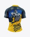 Women`s Cycling Jersey Mockup