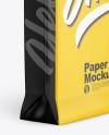 Glossy Paper Bag Mockup