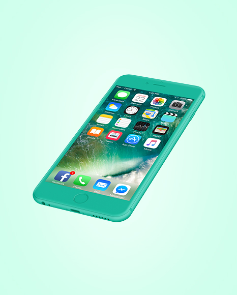 Clay Apple iPhone 6 Plus Mockup