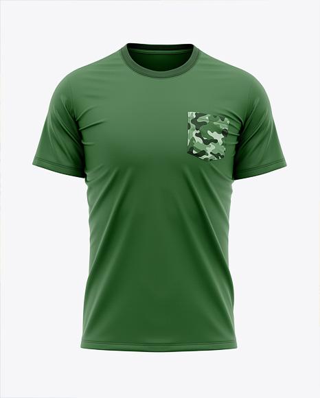 Men's Pocket T-Shirt - Front View
