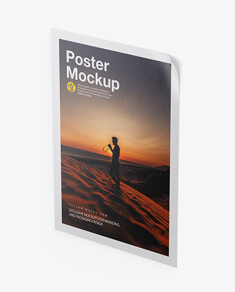 Textured Poster Mockup