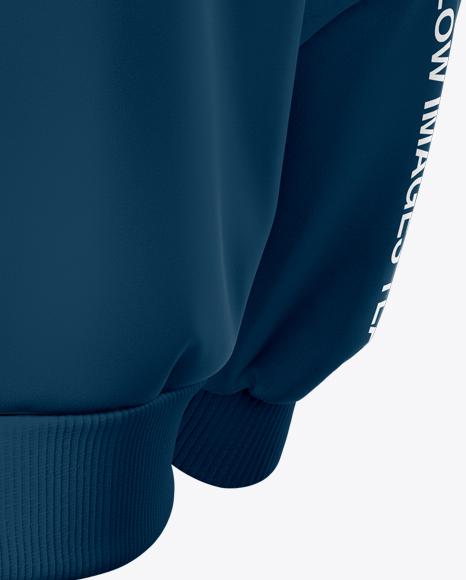 Men's Harrington Jacket - Half Side View