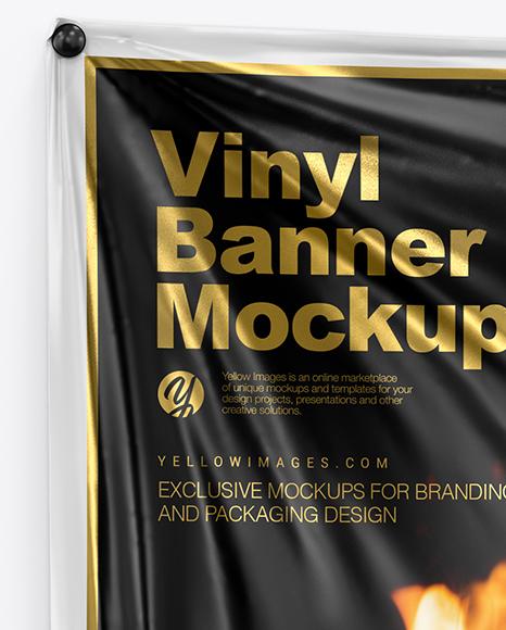 Vinyl Banner Mockup
