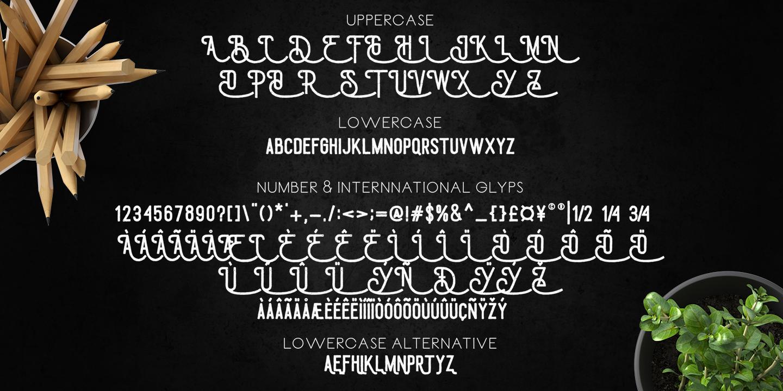 Draconian Font