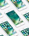 Isometric Apple iPhone 6 Plus Mockup