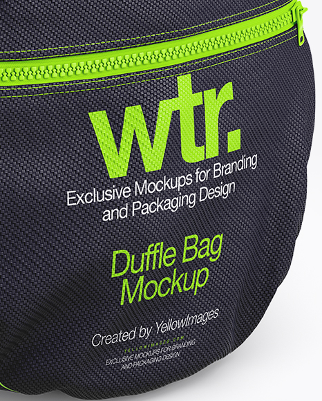 Download Duffle Bag Mockup Yellow Images
