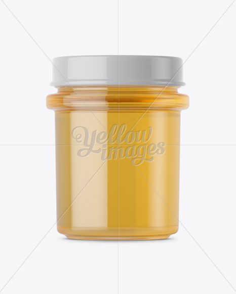 Download Pure Honey Jar Mockup In Free Mockups On Yellow Images Object Mockups PSD Mockup Templates