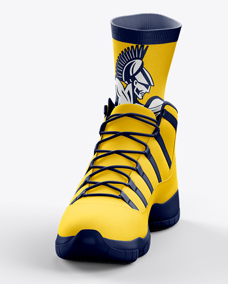 Download Basketball Sneakers Mockup Yellowimages