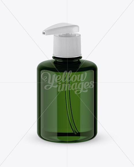 Download Download Green Liquid Soap Bottle With Pump Mockup Halfside View Psd Best Design Mockups Free Downloads Images PSD Mockup Templates