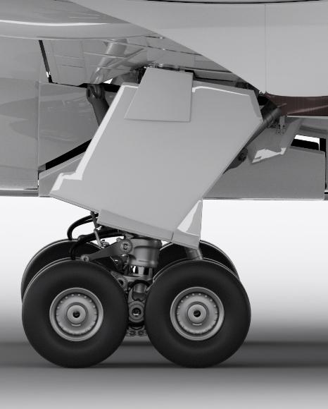 Boeing 787 Dreamliner Mockup - Right Side View