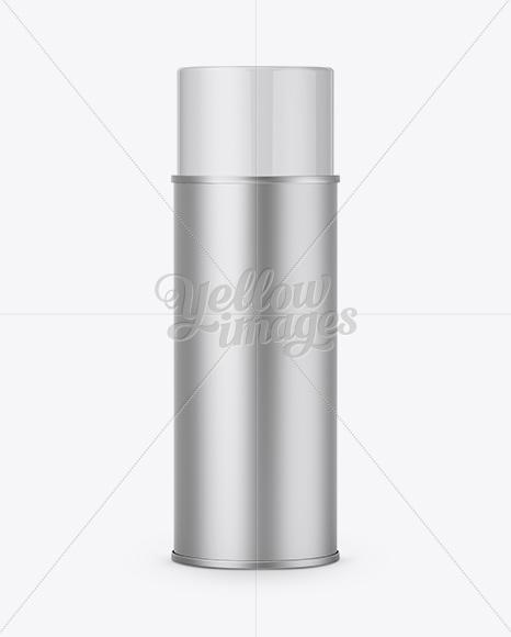 Aluminium Sprayer Bottle With Plastic Cap - Front View