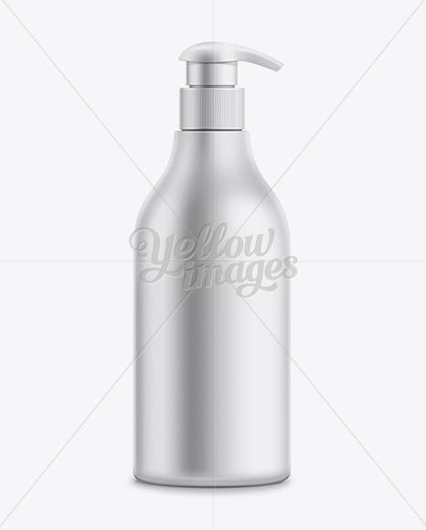 Download 500ml Shampoo Bottle With Lotion Pump Mockup In Bottle Mockups On Yellow Images Object Mockups PSD Mockup Templates