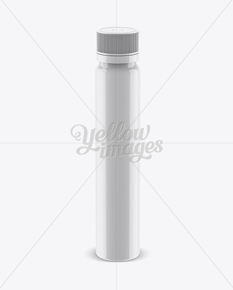 Download Glossy Plastic Sport Nutrition Bottle Mockup Front View High Angle Shot In Bottle Mockups On Yellow Images Object Mockups PSD Mockup Templates