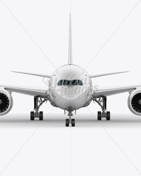 Boeing 787 Mockup - Front View