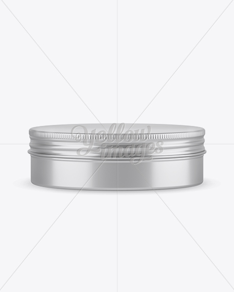 Download Metal Round Tin Box Mockup Front View High Angle Shot In Can Mockups On Yellow Images Object Mockups PSD Mockup Templates