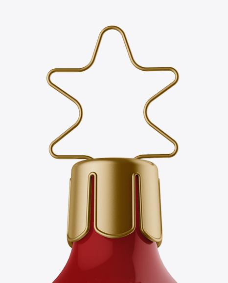 Download Glossy Christmas Bottle Mockup PSD - Free PSD Mockup Templates