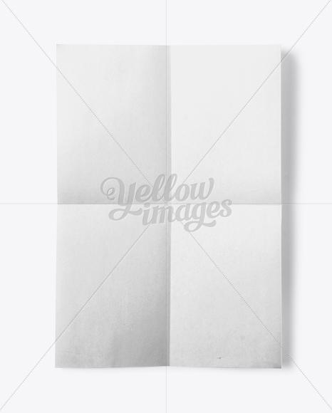 A3 Paper Mockup