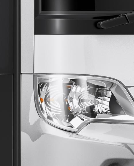 Mercedes-Benz Travego Mockup - Half Side View