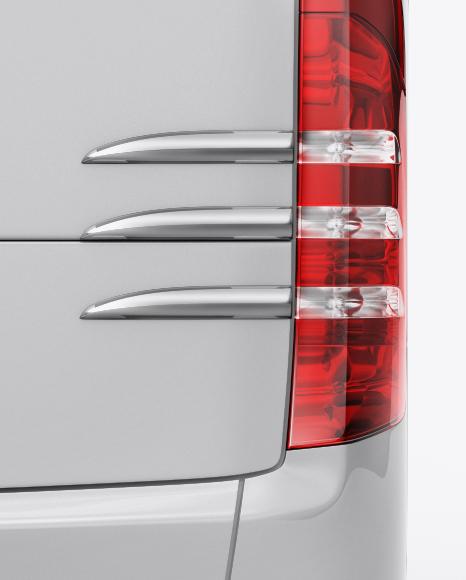 Mercedes-Benz Travego Mockup - Back View