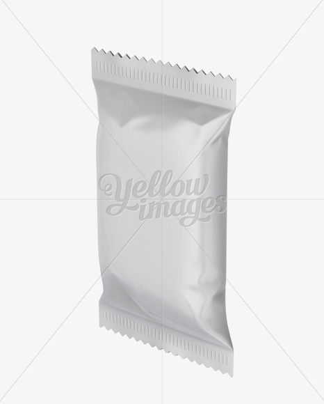 Download Snack Package Half Side View PSD - Free PSD Mockup Templates