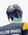Men's Full Ice Hockey Kit with Visor mockup (Hero Back Shot)