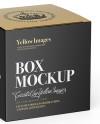 Box Mockup - Half-Side View (High-Angle Shot)