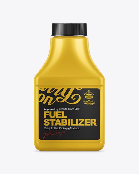 95ml Fuel Stabilizer Bottle Mockup