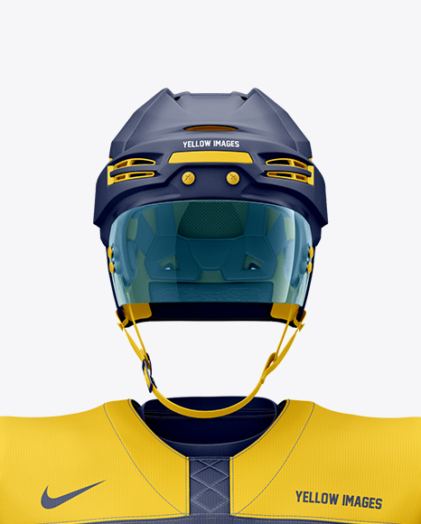Download Mens Full Ice Hockey Kit With Stick Mockup Hero Shot Yellowimages