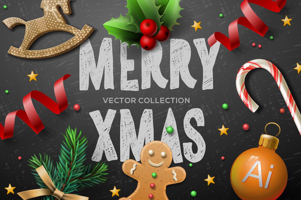 Vector Christmas bundle