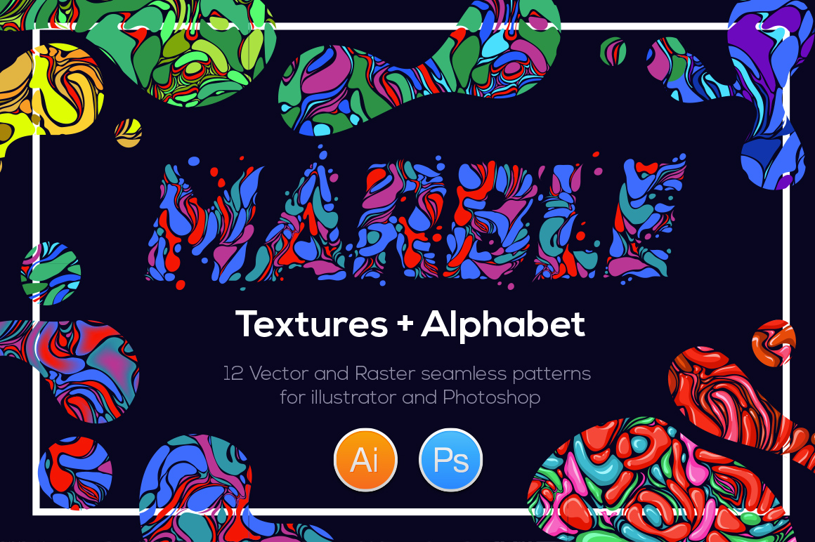12 Marble patterns