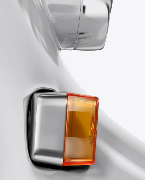 Honda Julio Mockup - Right View