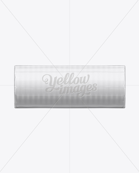 Download Metallic Round Cookie Packaging Mockup Front View In Packaging Mockups On Yellow Images Object Mockups PSD Mockup Templates