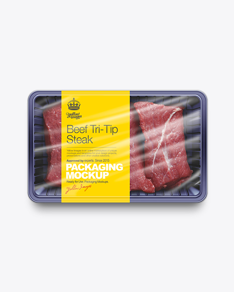 Sliced Beef Tray Mockup
