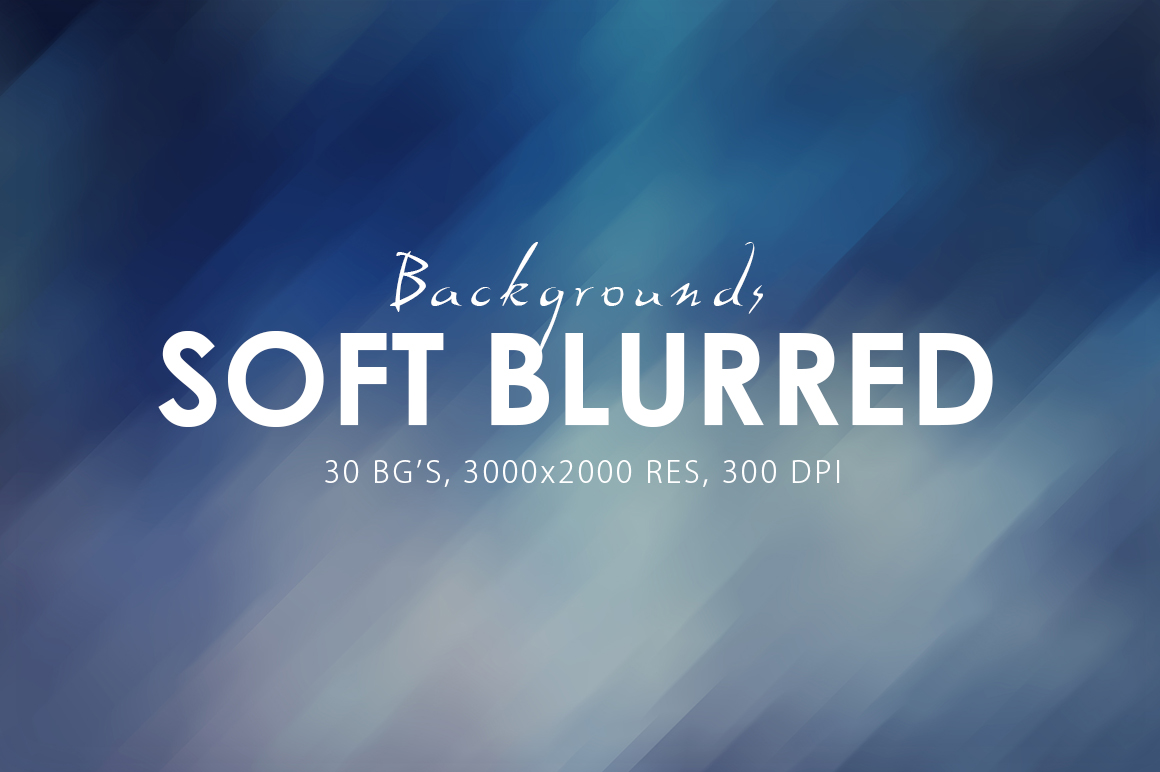 30 Soft Blurred Backgrounds