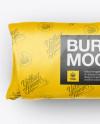 Burrito Wrapper Mockup - Top View