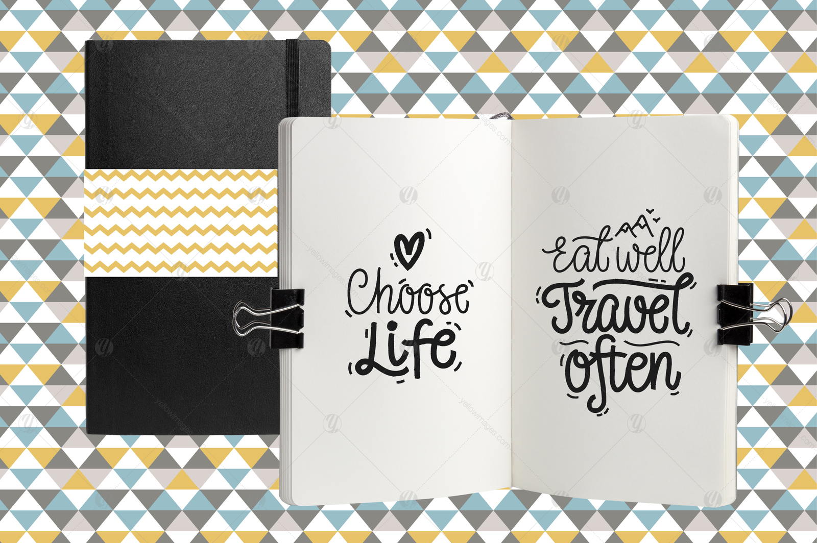 Motivational Vector Letterings