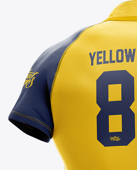 Download Mens Full Rugby Kit Hq Mockup Front View Yellowimages