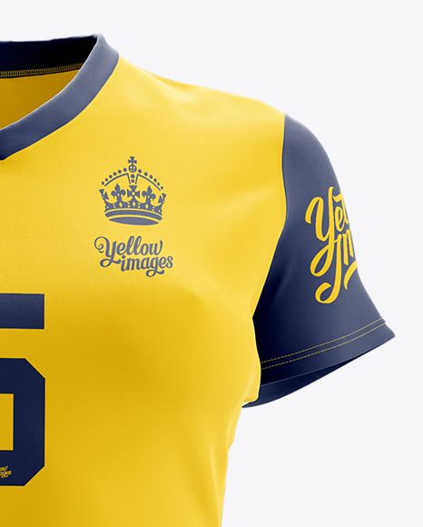 Women's Full Rugby Kit HQ Mockup - Front View