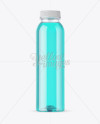 Clear PET Bottle With Soft Drink Mockup